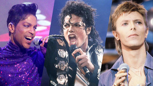 "Three ""'80's"" musik Legends"