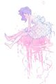 Tsukimi Kurashita - Princess Jellyfish - rainbow-unicorn fan art