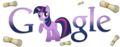Twilight Sparkle Google Logo - my-little-pony-friendship-is-magic photo
