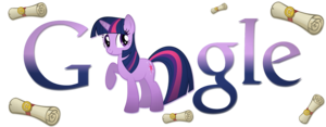 Twilight Sparkle গুগুল Logo