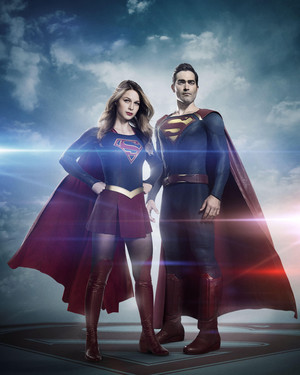 Tyler Hoechlin as Clark Kent/Superman in Supergirl - Season 2 Portrait