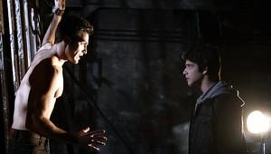 Tyler Hoechlin as Derek Hale in Teen loup - Code Breaker (1x12)