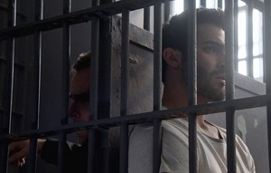 Tyler Hoechlin as Derek Hale in Teen lupo - Echo House (3x20)