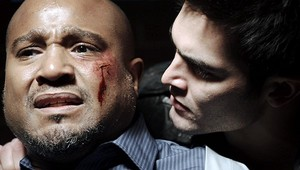 Tyler Hoechlin as Derek Hale in Teen волк - сердце Monitor (1x06)