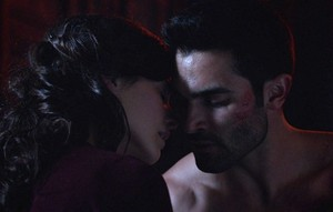 Tyler Hoechlin as Derek Hale in Teen 狼, オオカミ - Motel California (3x06)