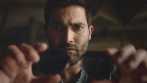 Tyler Hoechlin as Derek Hale in Teen волк - Muted (4x03)