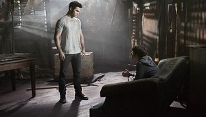 Tyler Hoechlin as Derek Hale in Teen 늑대 - Pack Mentality (1x03)