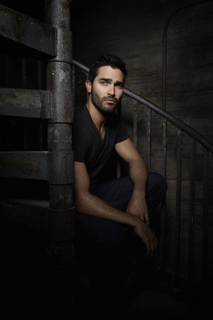 Tyler Hoechlin as Derek Hale in Teen lobo - Season 3 Portrait