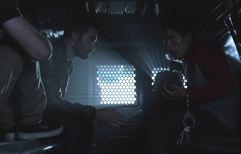 Tyler Hoechlin as Derek Hale in Teen Wolf - Smoke and Mirrors (4x12)