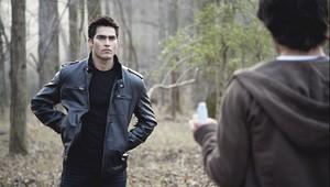 Tyler Hoechlin as Derek Hale in Teen волк - волк Moon (1x01)