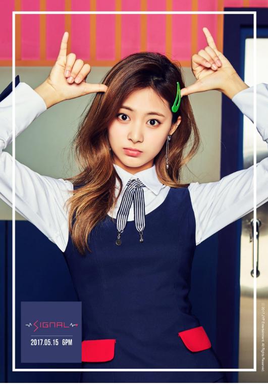 Twice Jyp Ent Images Tzuyu Teaser Image For Signal Hd Wallpaper