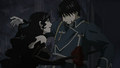 Ultimate Spear vs Roy Mustang  - anime photo