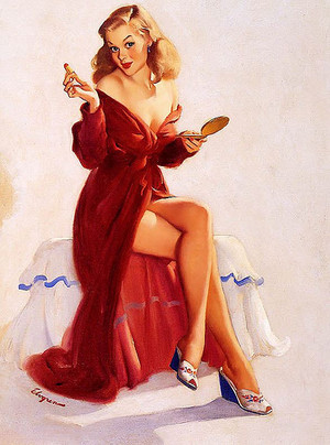 Vintage Pin Up Beauty