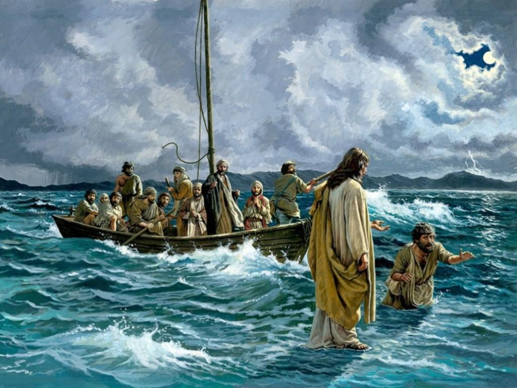 Jesus images Walking On Water HD wallpaper and background photos
