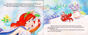 Walt disney Book imagens - The Little Mermaid's Treasure Chest: Her Majesty, Ariel