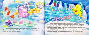 Walt disney Book imagens - The Little Mermaid's Treasure Chest: Her Majesty, Ariel