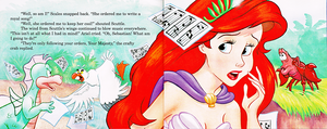 Walt Disney Book تصاویر - The Little Mermaid's Treasure Chest: Her Majesty, Ariel
