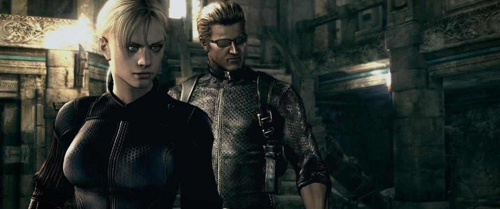 Wesker And Jill Resident Evil 5 Photo 40426237 Fanpop