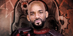 Will Smith as Deadshot Character Poster for Suicide Squad