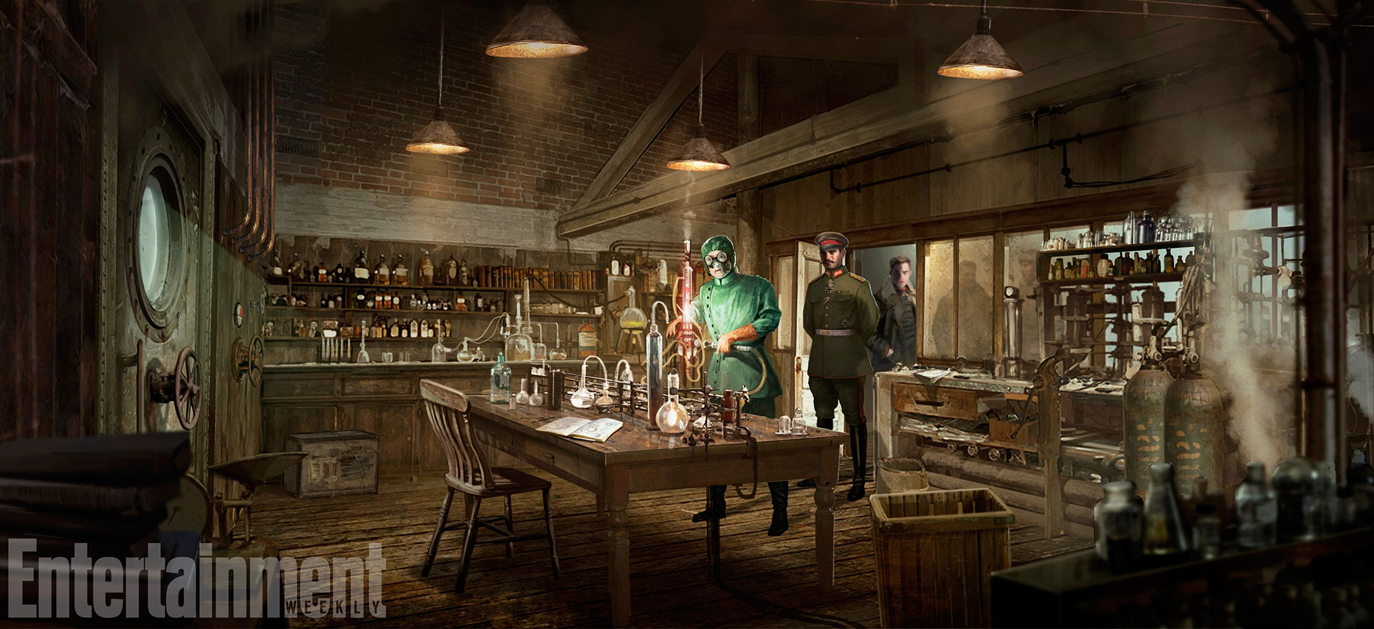 Wonder Woman (2017) Concept Art - Poison's Laboratory