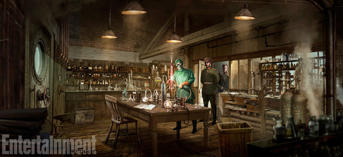 Wonder Woman (2017) wallpaper titled Wonder Woman (2017) Concept Art - Poison's Laboratory