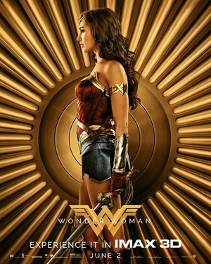Wonder Woman (2017) IMAX Character Poster - Diana