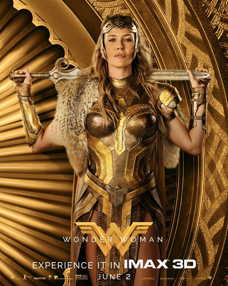 Wonder Woman (2017) IMAX Character Poster - क्वीन Hippolyta