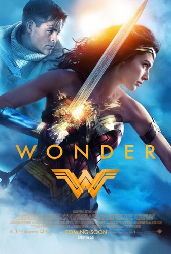 Wonder Woman (2017) 壁紙 titled Wonder Woman (2017) Poster
