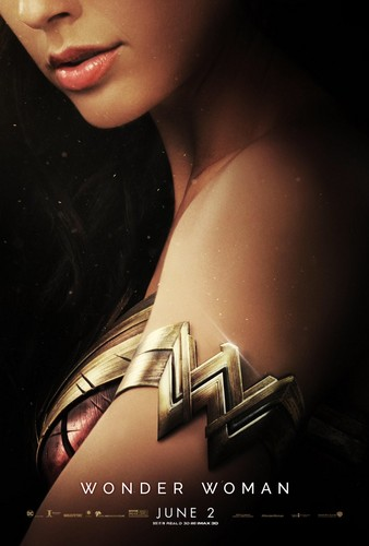 Wonder Woman (2017) wolpeyper titled Wonder Woman (2017) Poster