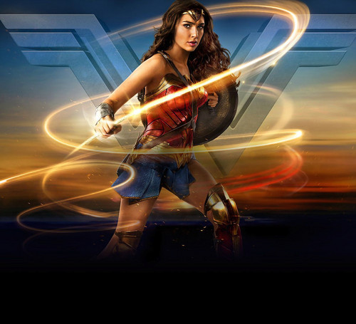 Wonder Woman (2017) fond d'écran entitled Wonder Woman (2017) Poster