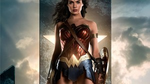 Wonder Woman Justice League वॉलपेपर