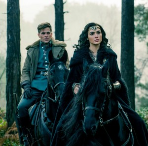 Wonder Woman - Steve and Diana