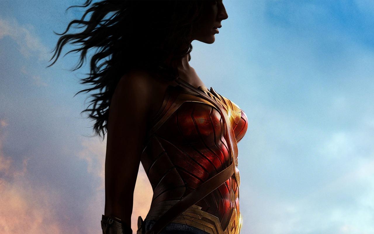 Wonder Woman karatasi la kupamba ukuta