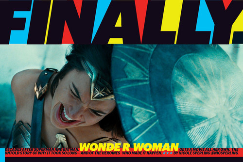 Wonder Woman (2017) fond d'écran entitled Wonder Woman in Entertainment Weekly - May 2017 [1]