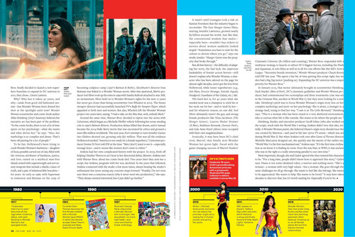 Wonder Woman (2017) wallpaper titled Wonder Woman in Entertainment Weekly - May 2017 [3]