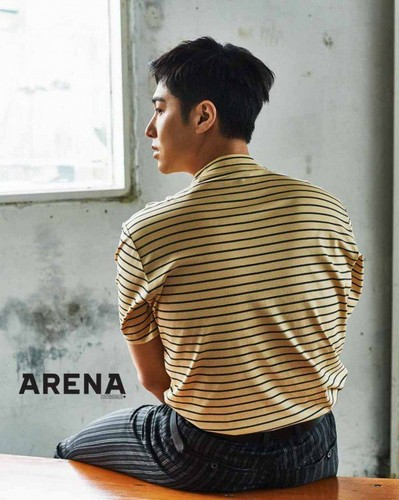 TVXQ!! 바탕화면 titled Yunho for 'Arena Homme Plus'