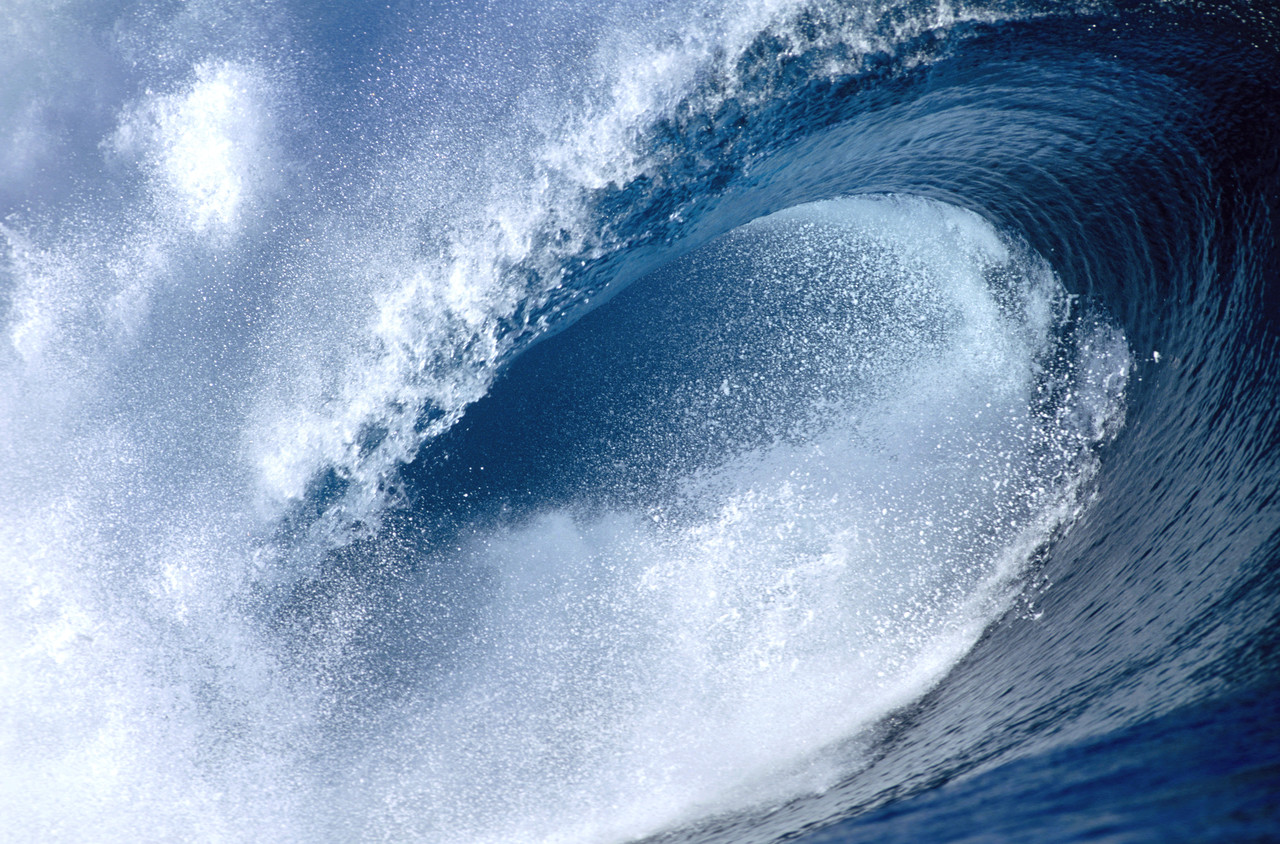 Photographs of tsunami waves Biblical Corruption - The Reluctant Messenger of