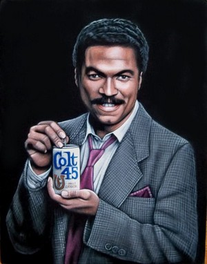 Billy Dee Williams Colt 45 Promo Ad