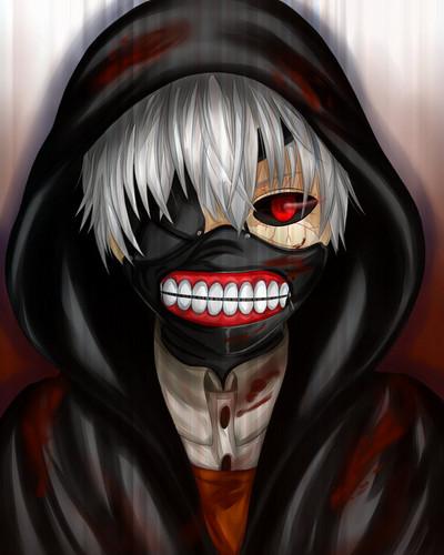 Tokyo Ghoul karatasi la kupamba ukuta entitled ghoul kaneki ken kwa sherbalo d7tczk6