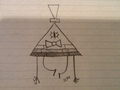 Bill motion #1 - gravity-falls fan art