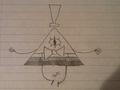 Bill motion #2 - gravity-falls fan art