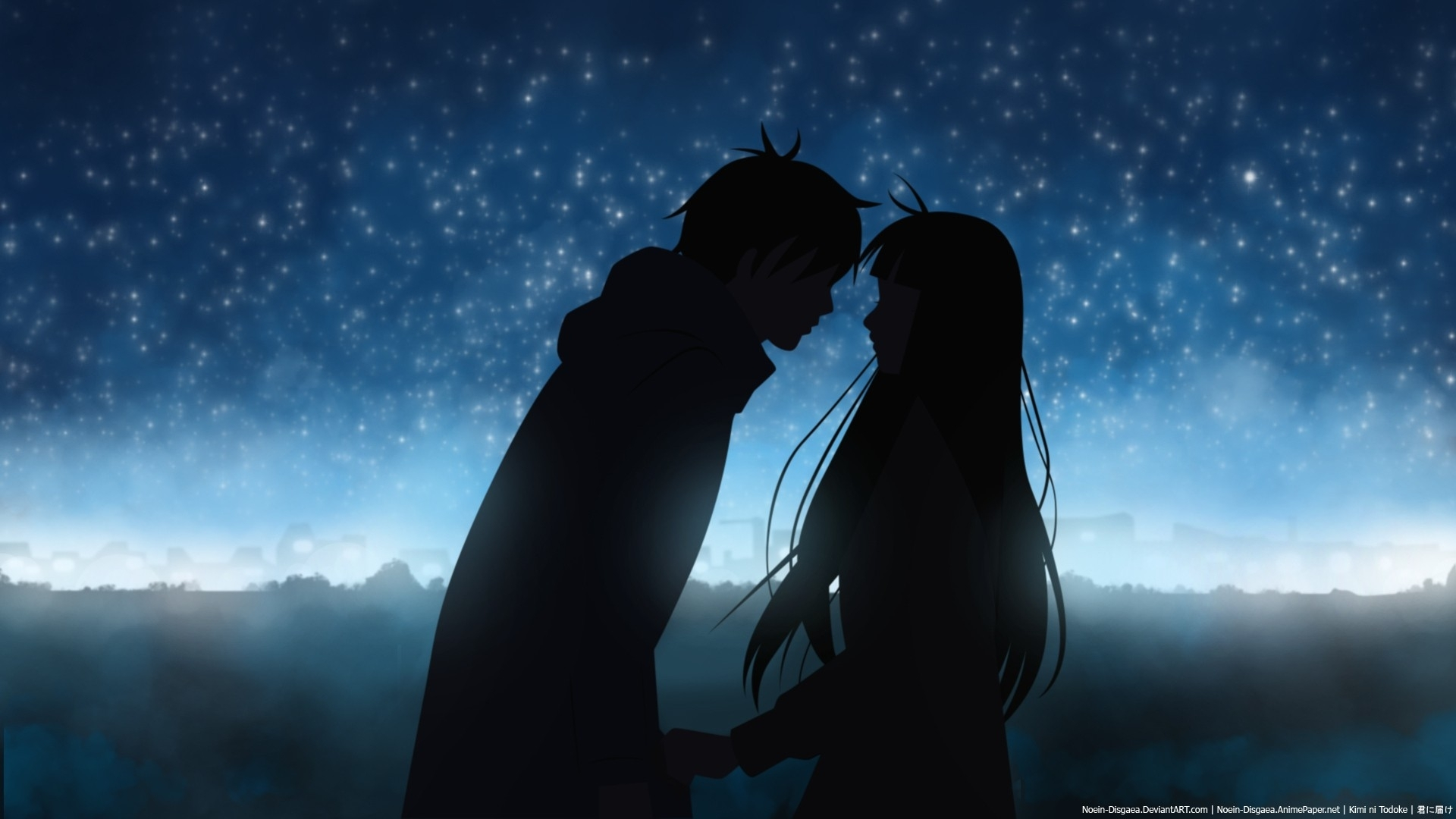 Love Night Kimi Ni Todoke Kuronuma Sawako Kazehaya Shota Anime Girls