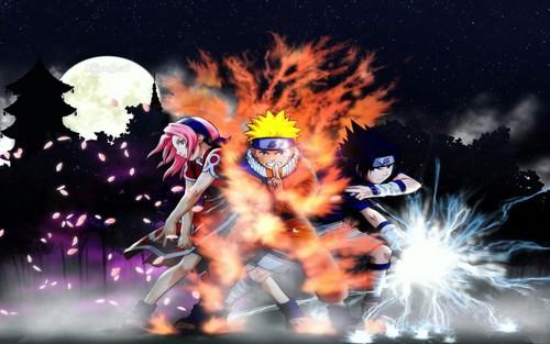 Naruto wallpaper entitled team.....