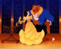 Snow White wearing Belle Golden dress - snow-white photo