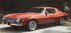 """""""'76"""" Chevy Camaro"""