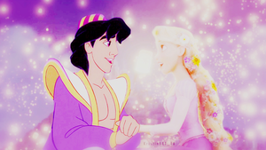 Aladdin x Rapunzel