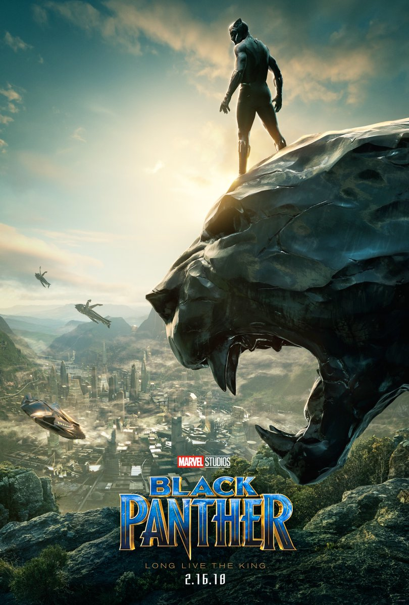 'Black Panther' SDCC 2017 Poster