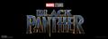 'Black Panther' Title Logo