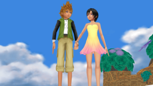 Bonus My Fandom. Ventus and Xion. MMD