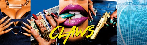 Claws (TNT) karatasi la kupamba ukuta entitled 'Claws' Key Art Banner